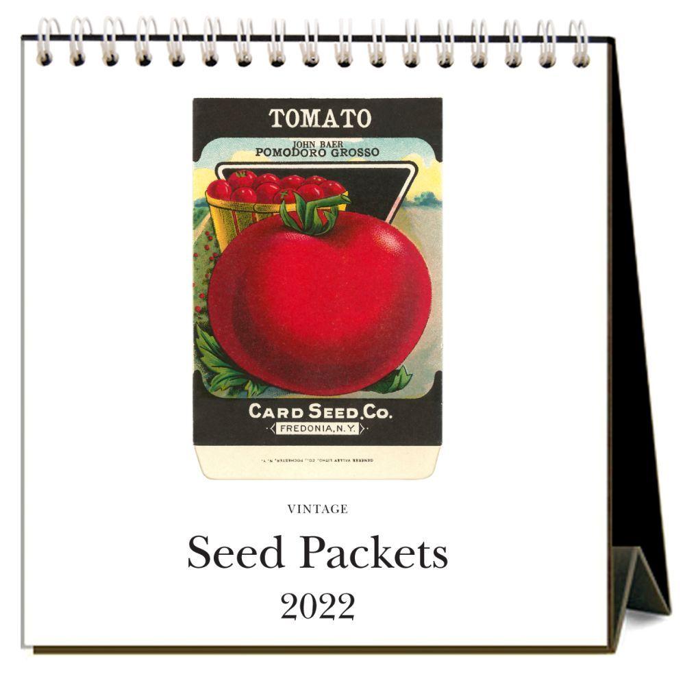 Seed Packets 2022 Desk Calendar