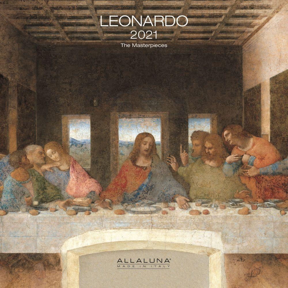 Leonardo Da Vinci 2021 Wall Calendar