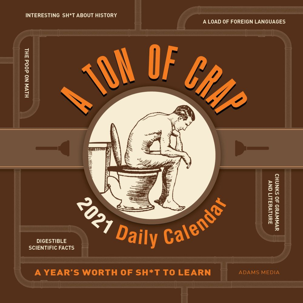 2021 Ton of Crap Desk Calendar