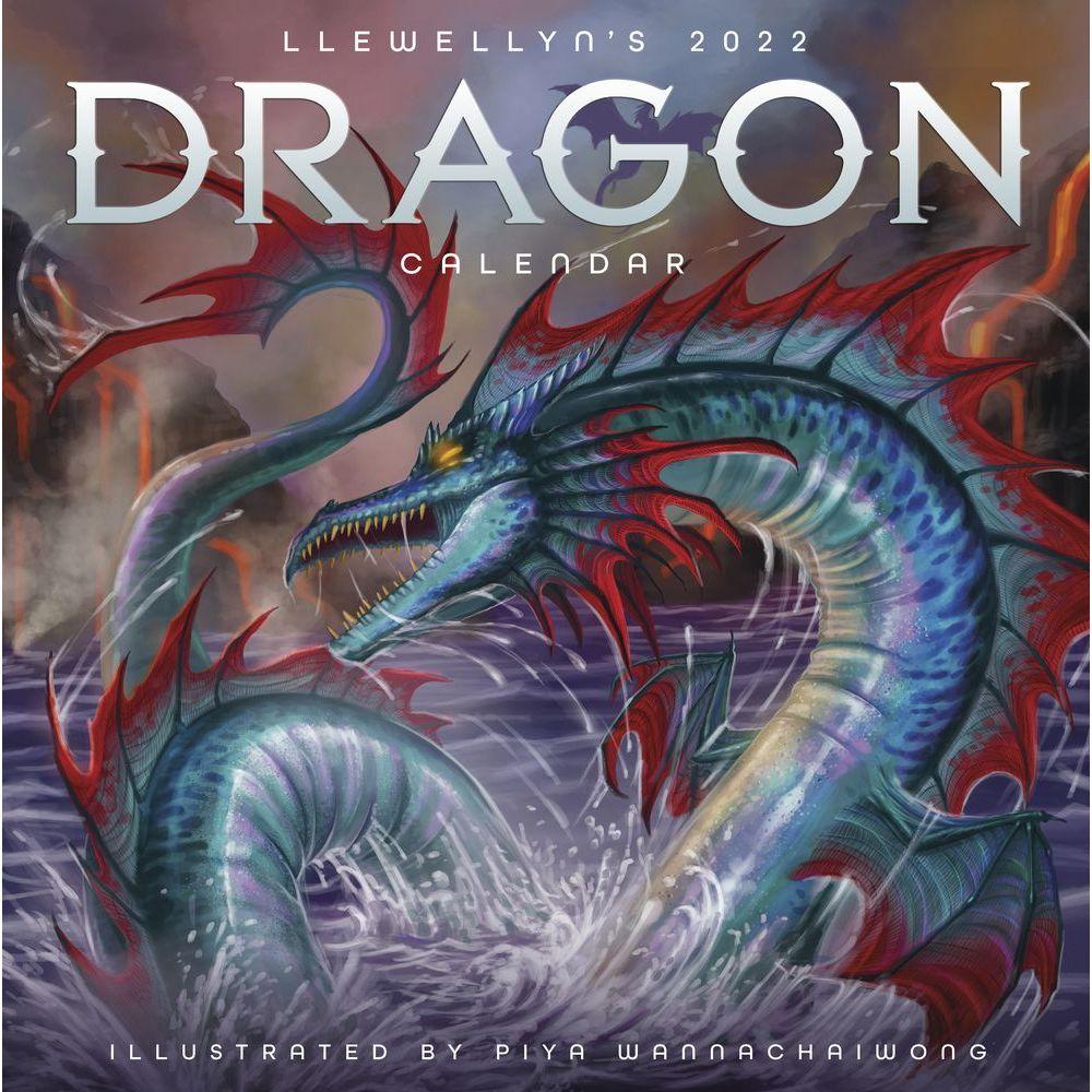 Dragons 2022 Wall Calendar