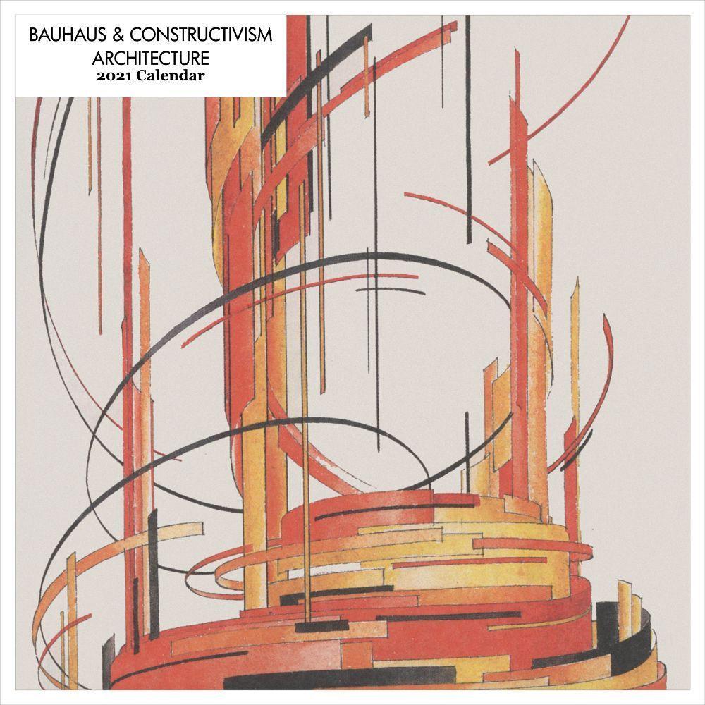2021 Bauhaus & Constructivism Wall Calendar