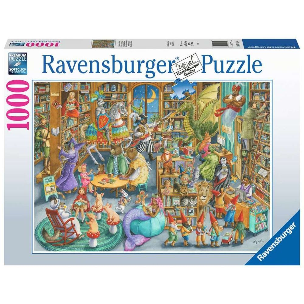 Best Midnight at the Library 1000pc Puzzle You Can Buy
