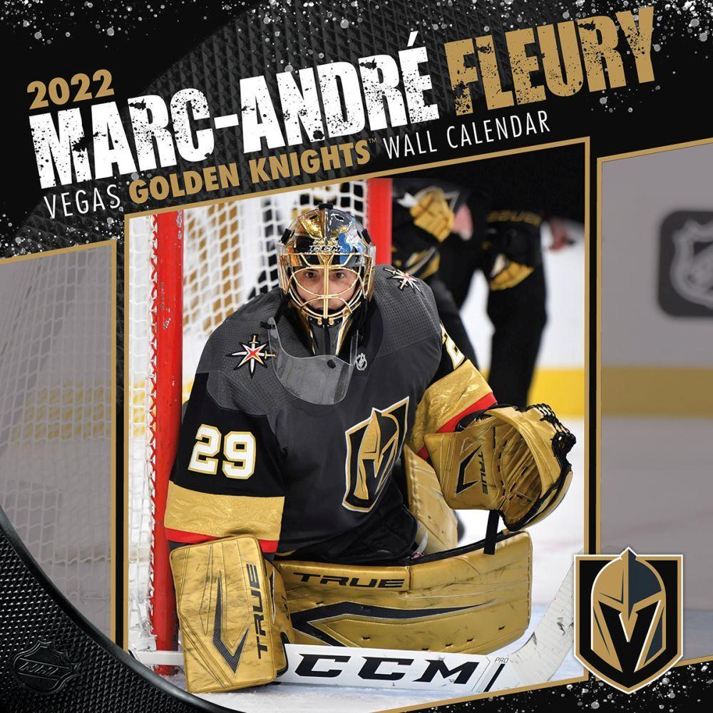 Vegas Golden Knights MarcAndre Fleury 2022 Wall Calendar