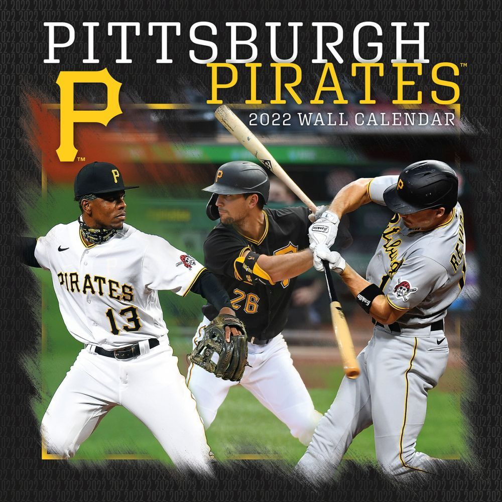 Pittsburgh Pirates 2022 Wall Calendar