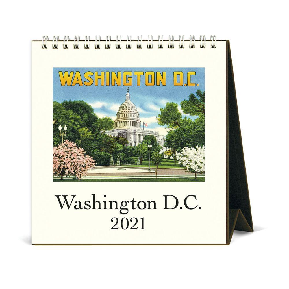 2021 Washington DC Easel Calendar