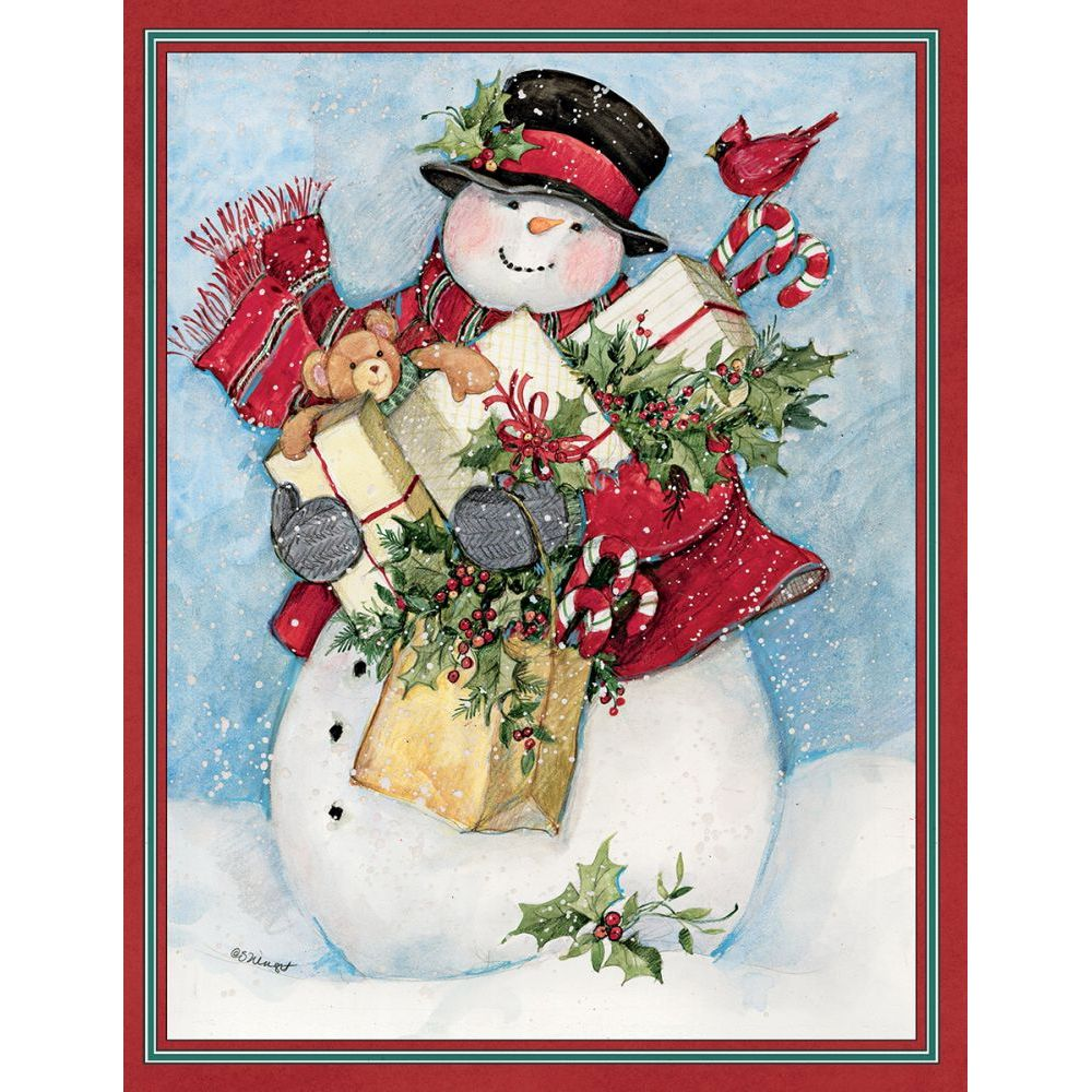 Candy-Cane-Snowman-&-Santa-Assorted-Boxed-Christmas-Cards-2