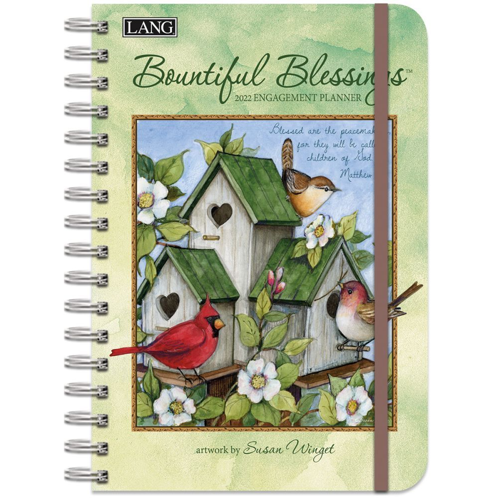 Bountiful Blessings 2022 Spiral Engagement Planner