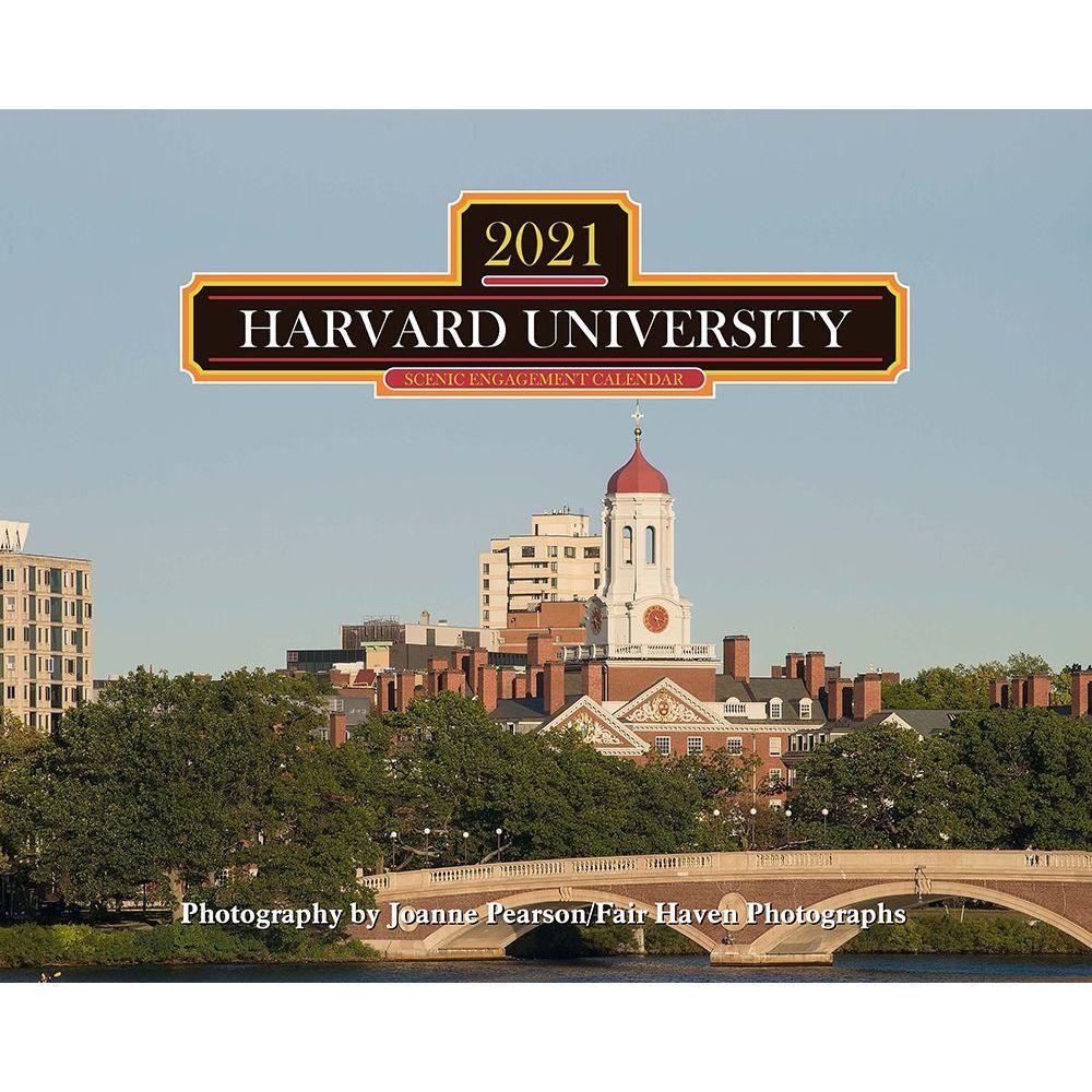 2021 Harvard Wall Calendar