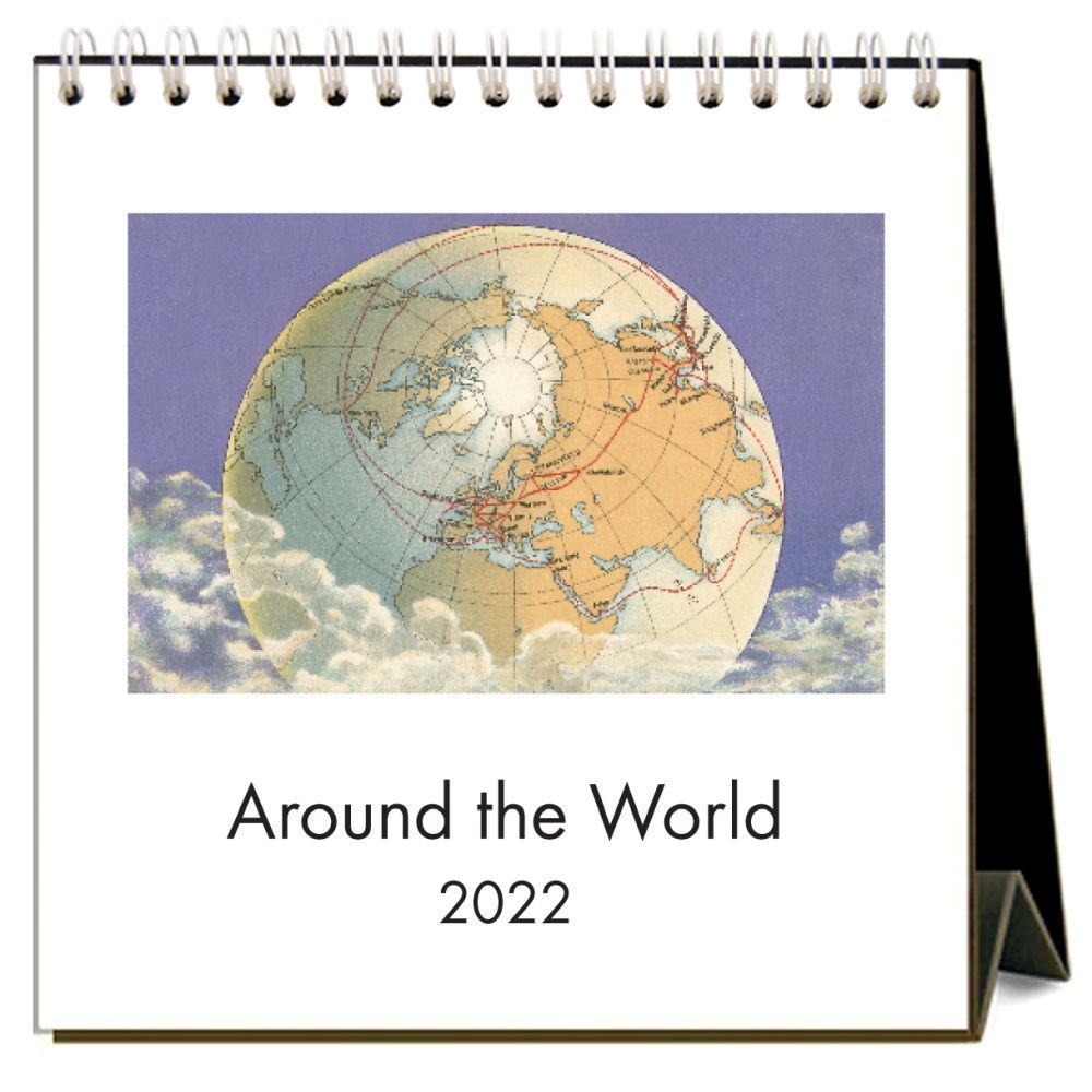 Around the World 2022 Desk Calendar