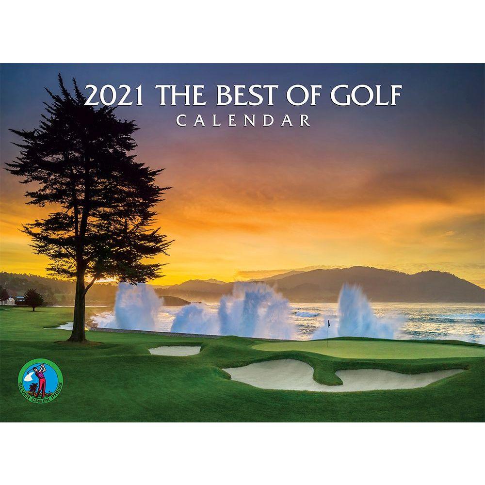 2021 Best of Golf Wall Calendar