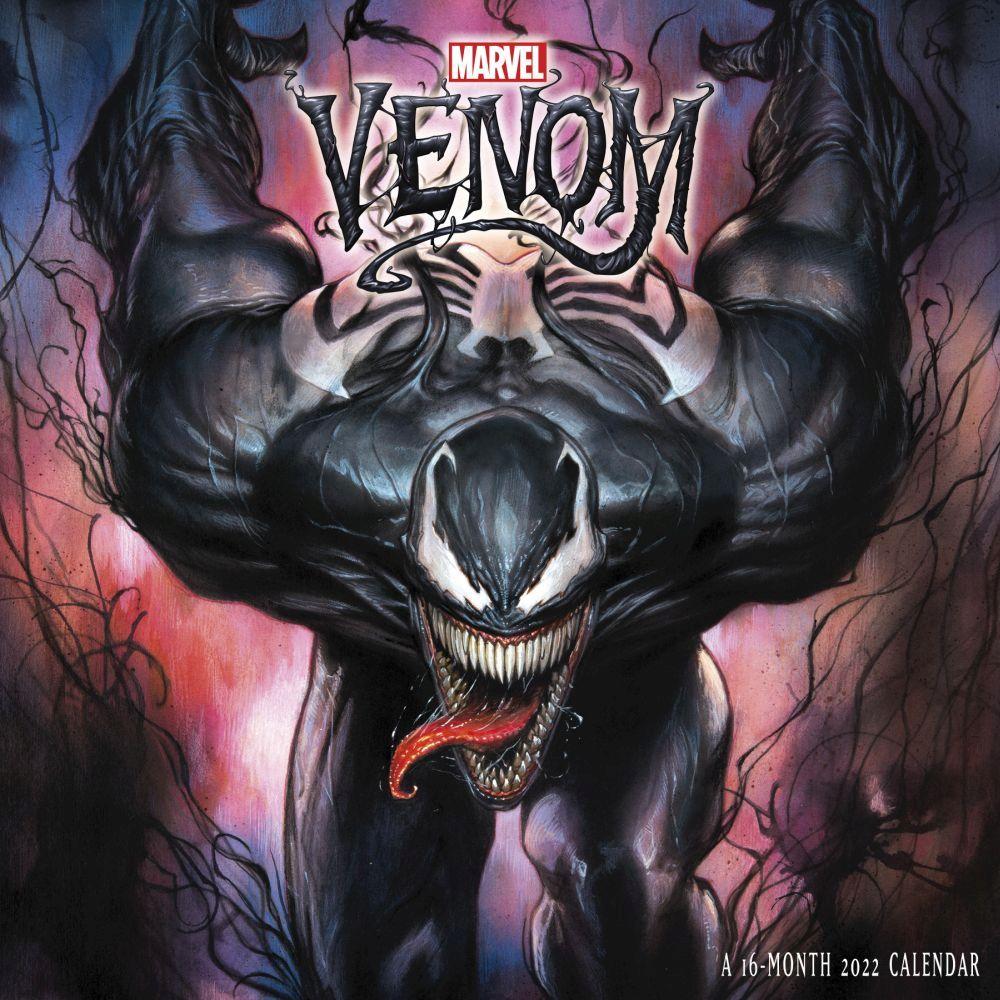 Venom 2022 Wall Calendar