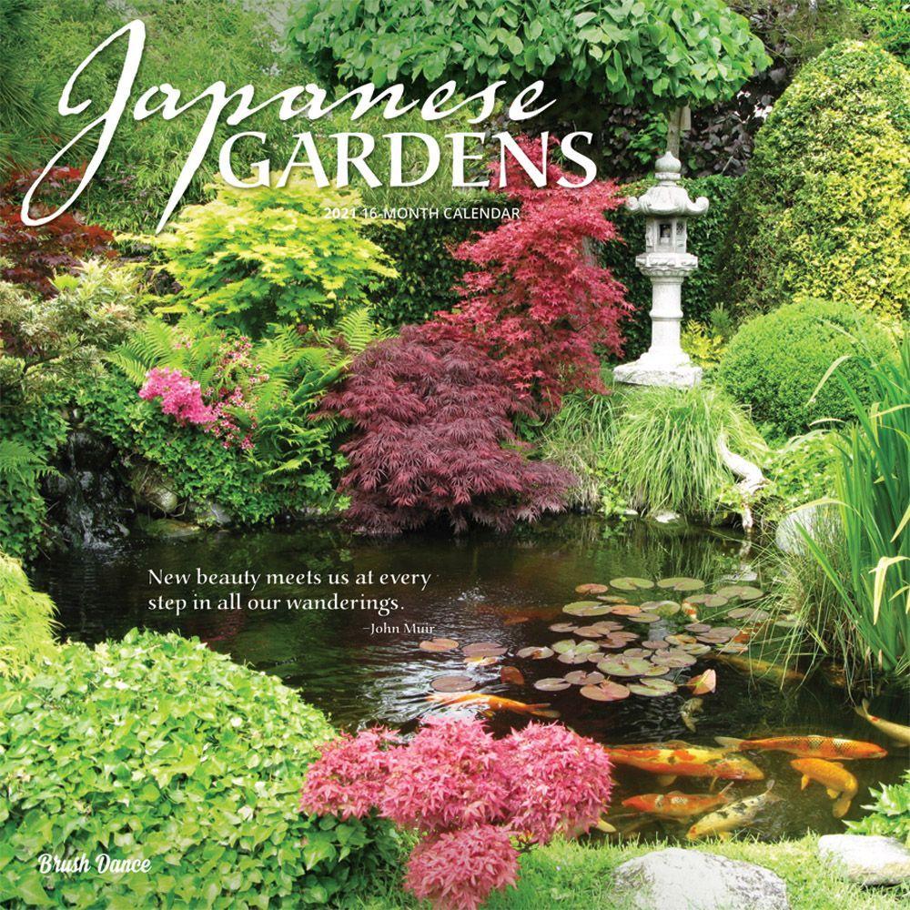 2021 Japanese Gardens Wall Calendar