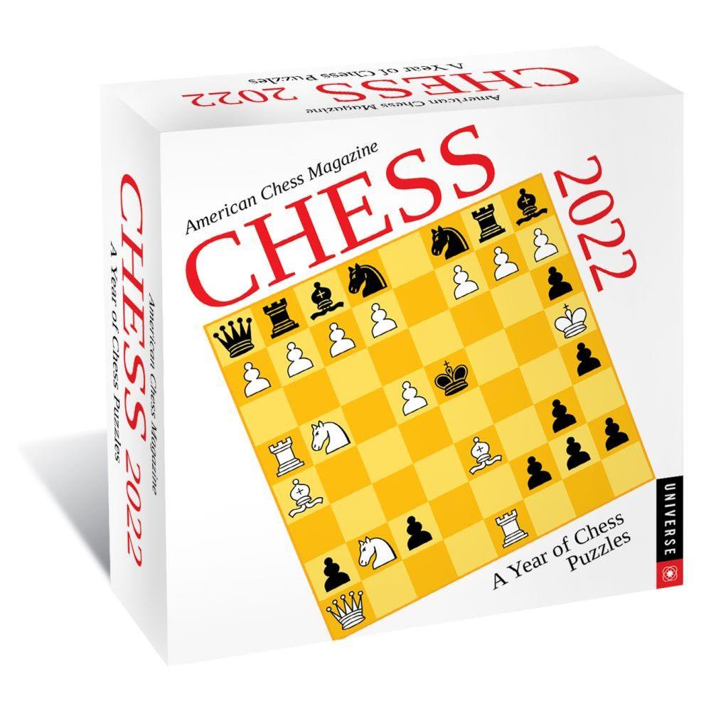 Chess 2022 Desk Calendar