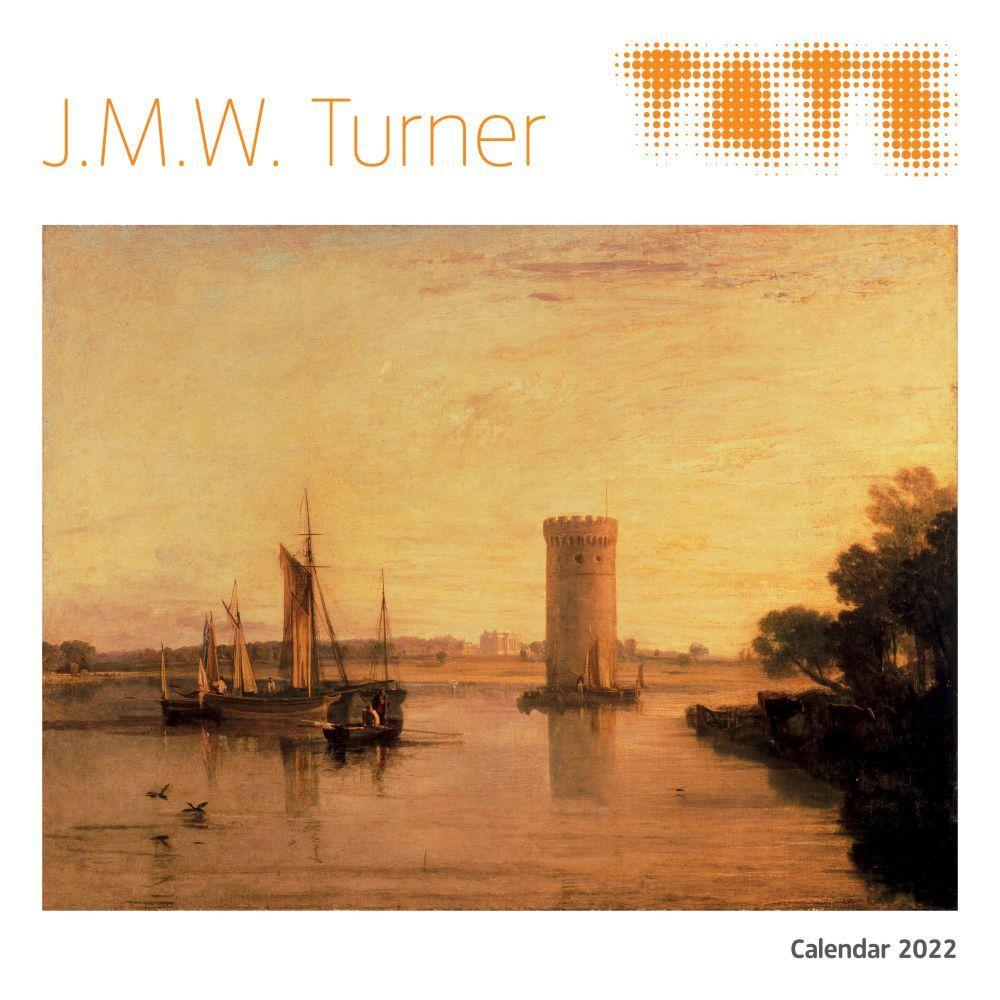 J.M.W. Turner 2022 Wall Calendar