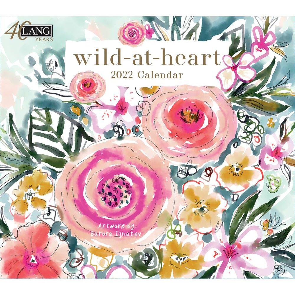 Wild At Heart 2022 Wall Calendar