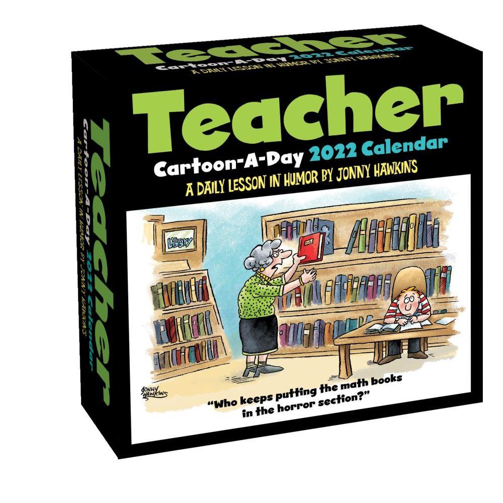 Teacher Cartoon-a-Day 2022 Calendar
