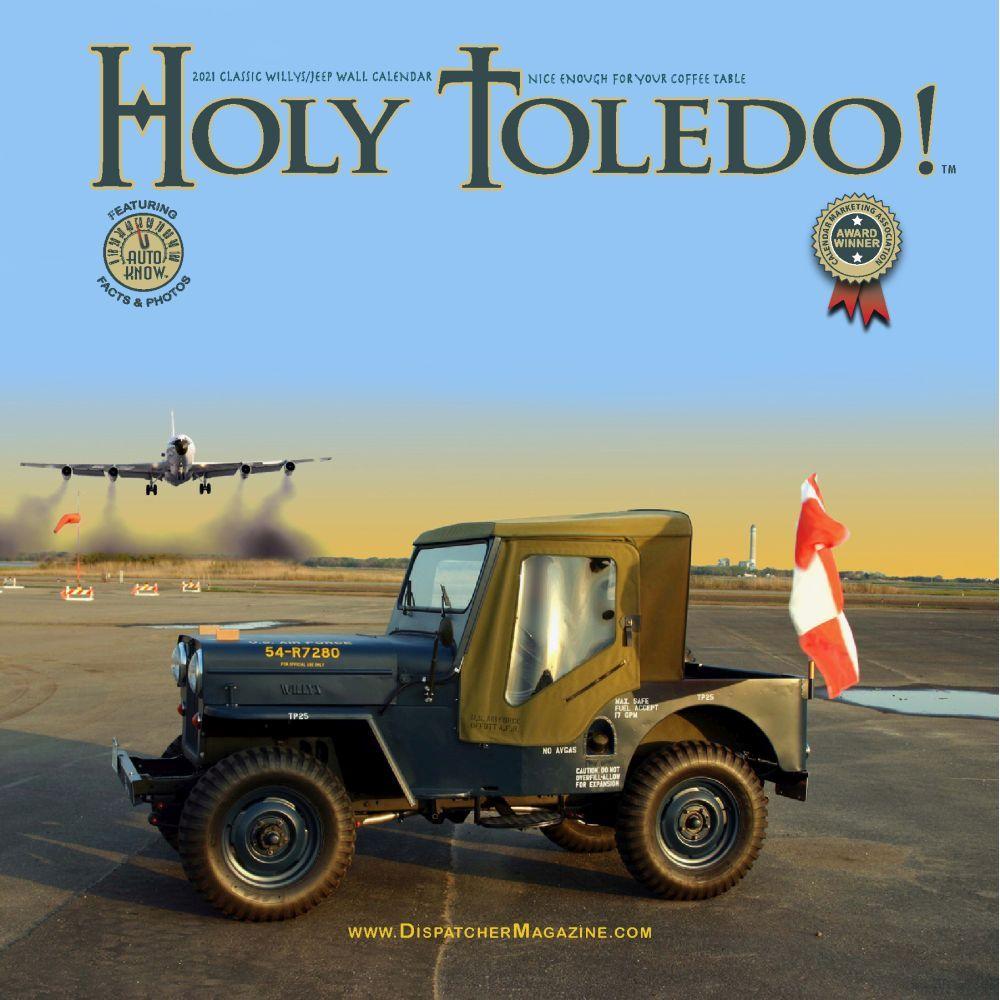 2021 Holy Toledo Wall Calendar