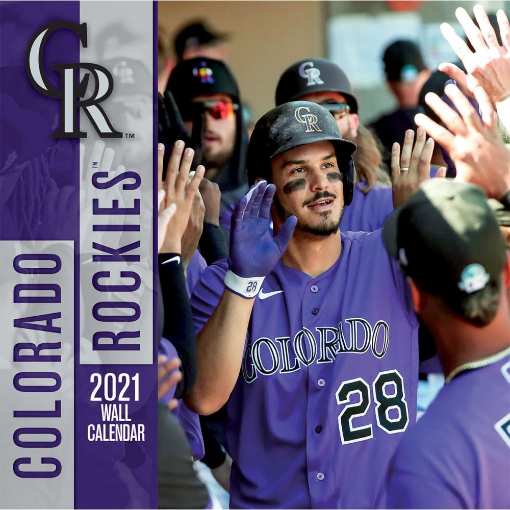 2021 Colorado Rockies Wall Calendar