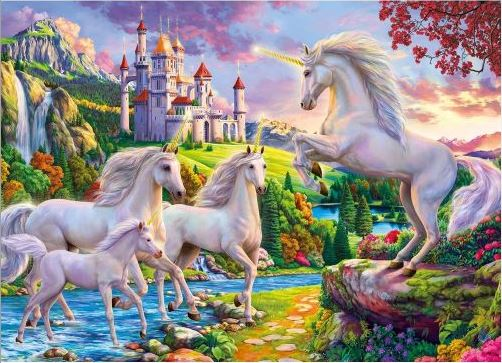 Best Unicorn and Castle 1000pc Puzzle You Can Buy