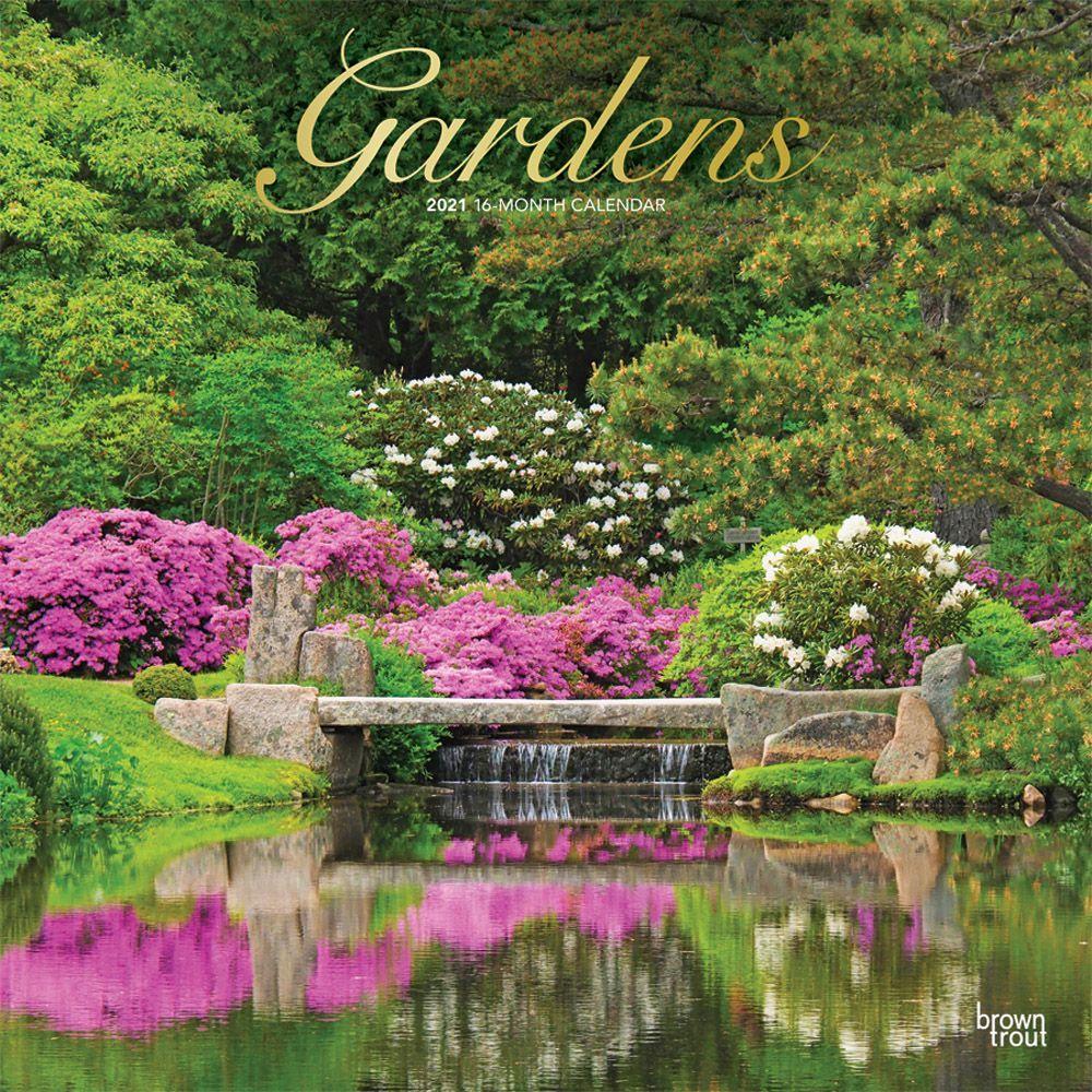 2021 Gardens Wall Calendar