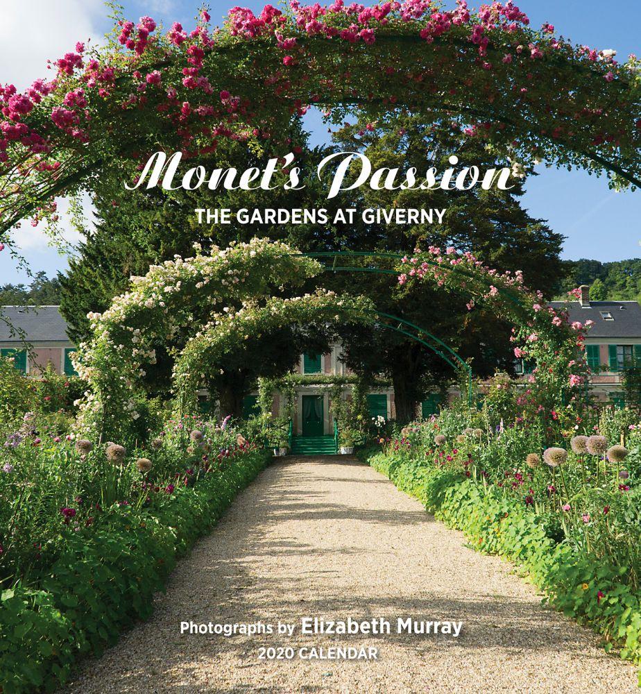 Monet's Passion 2021 Wall Calendar