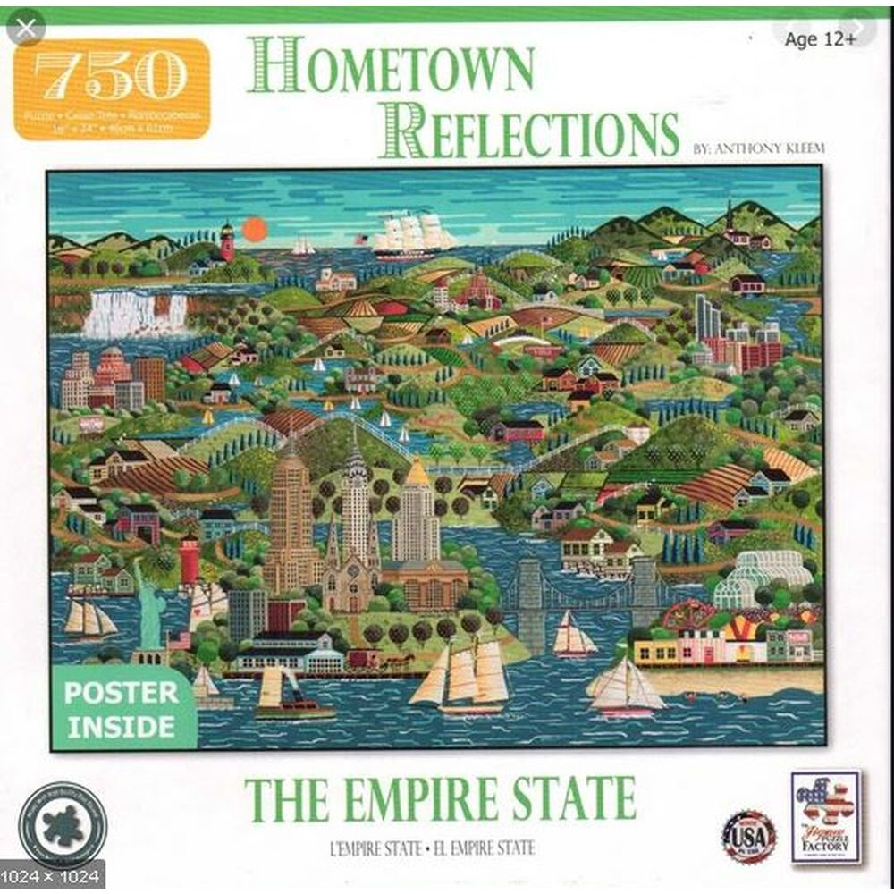 Best Empire State 750 Piece Puzzle You Can Buy