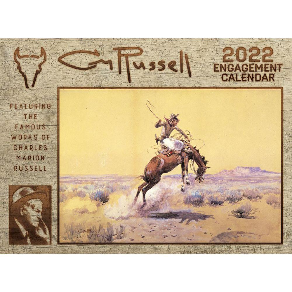 Russell 2022 Wall Calendar