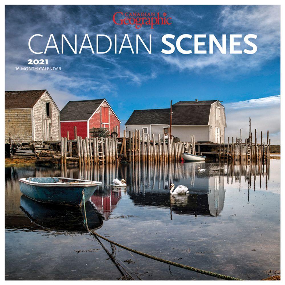 2021 Canadian Scenes Wall Calendar