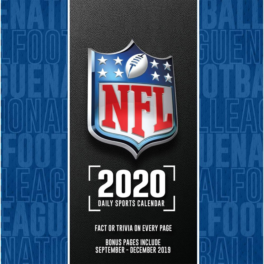 NFL All Team 2021 Desk Calendar