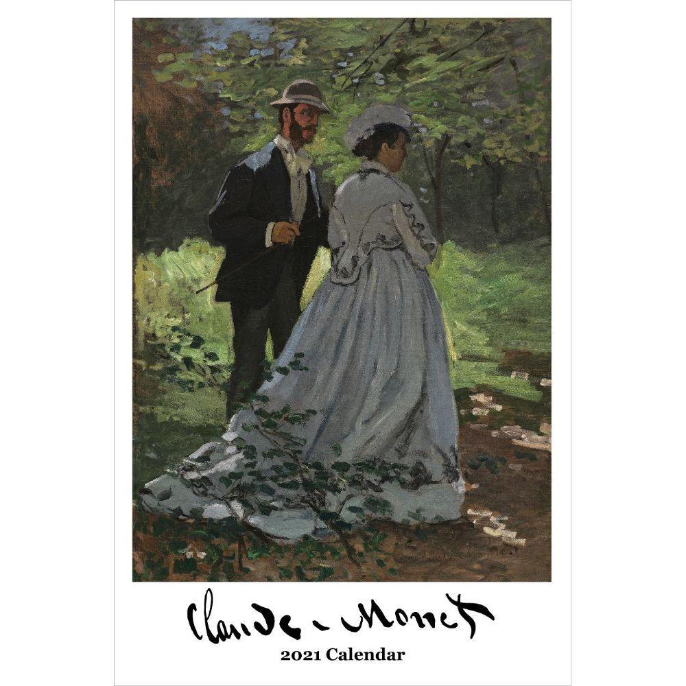 Claude Monet 2021 Wall Calendar