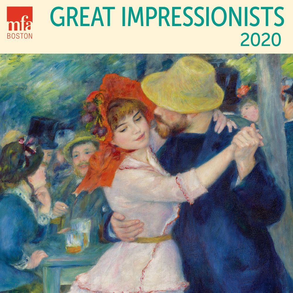 Great Impresionists 2021 Mini Wall Calendar