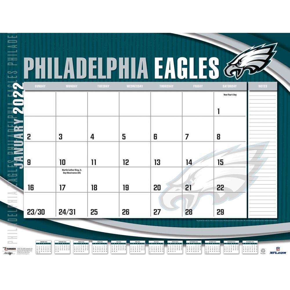 Philadelphia Eagles 2022 Desk Pad