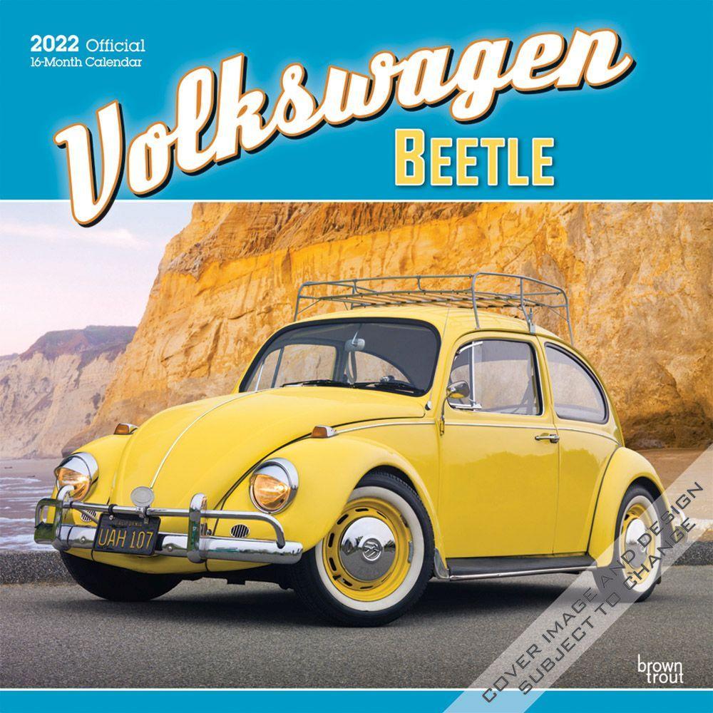 Volkswagen Beetle 2022 Wall Calendar