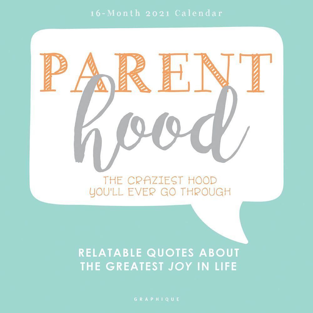 2021 Parenthood Wall Calendar