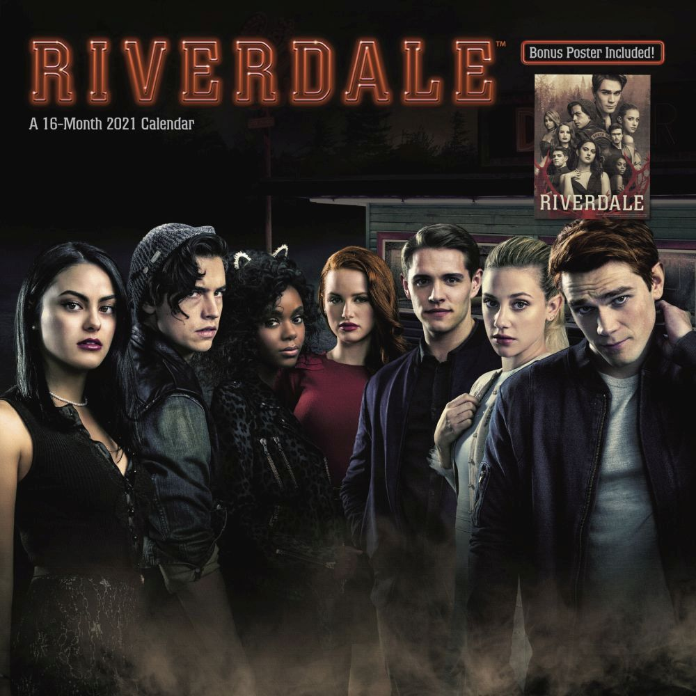2021 Riverdale Exclusive Wall Calendar wPoster