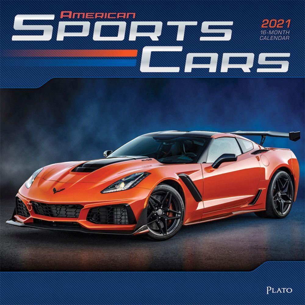 2021 Sports Cars Wall Calendar SV