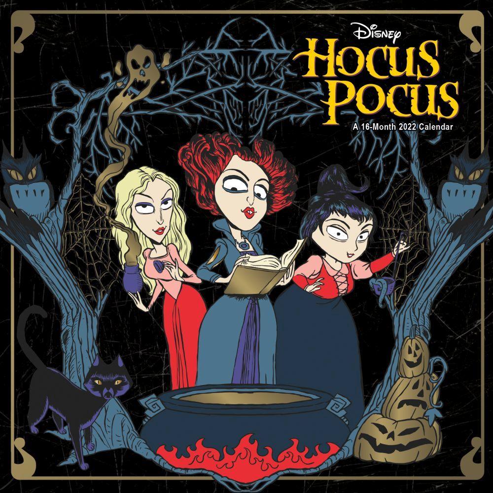 Hocus Pocus 2022 Wall Calendar