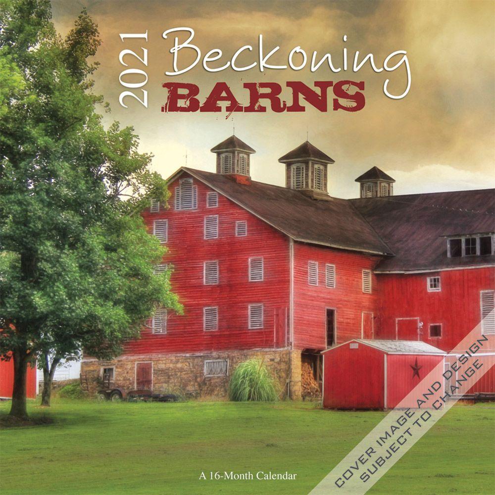 2021 Beckoning Barns Wall Calendar