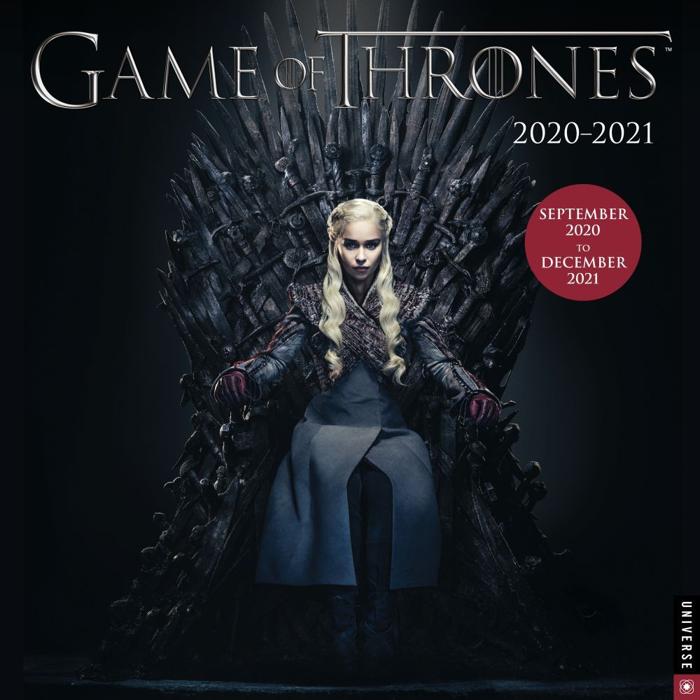 2021 Game of Thrones Wall Calendar