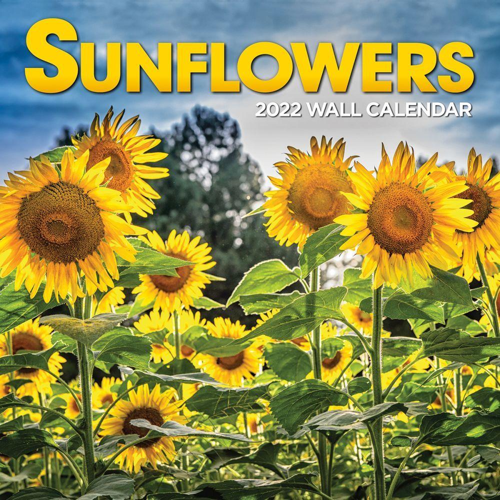 Sunflowers 2022 Wall Calendar