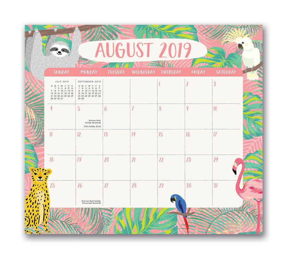Jungle-Life-Magnetic-Calendar-1