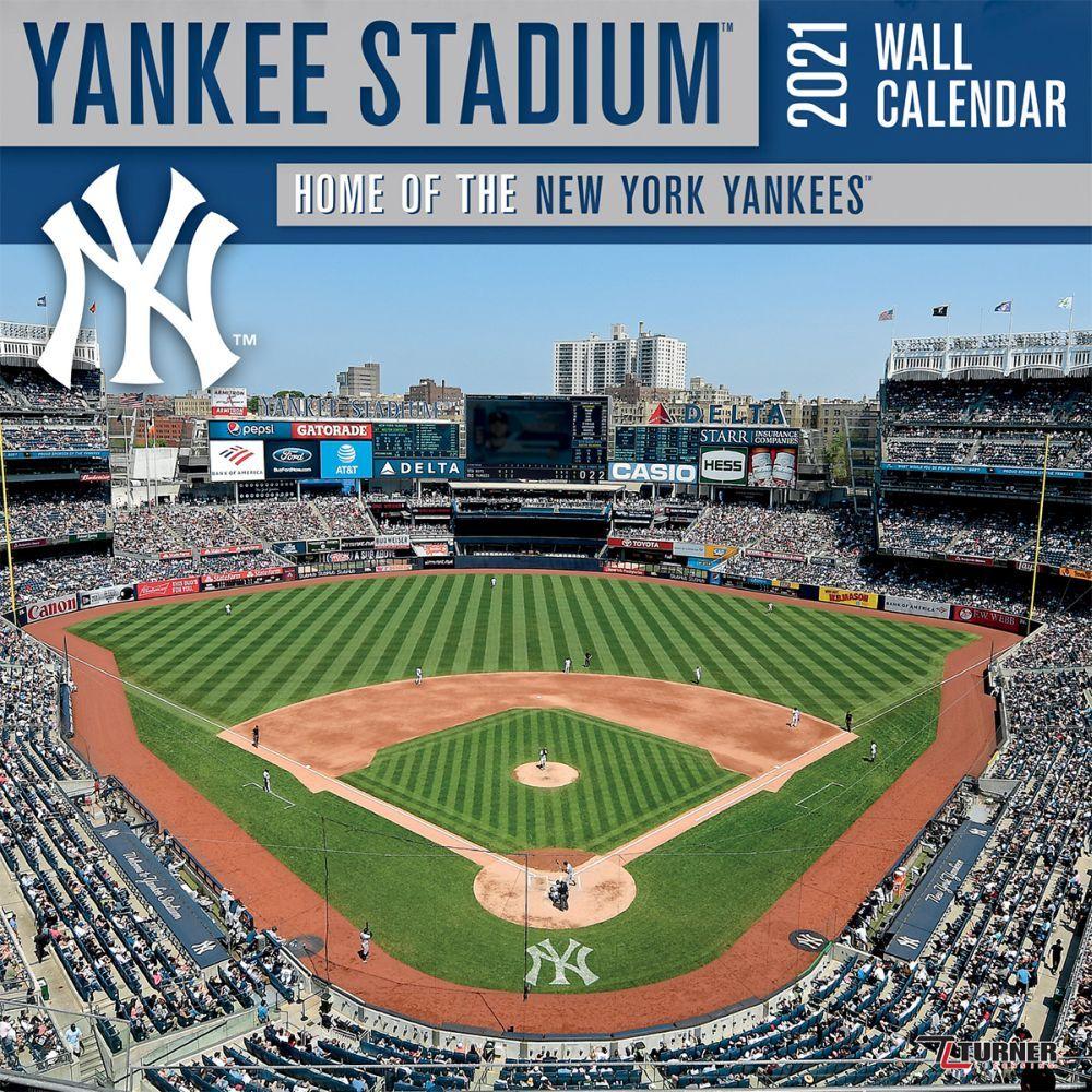 Yankee Stadium 2021 Wall Calendar