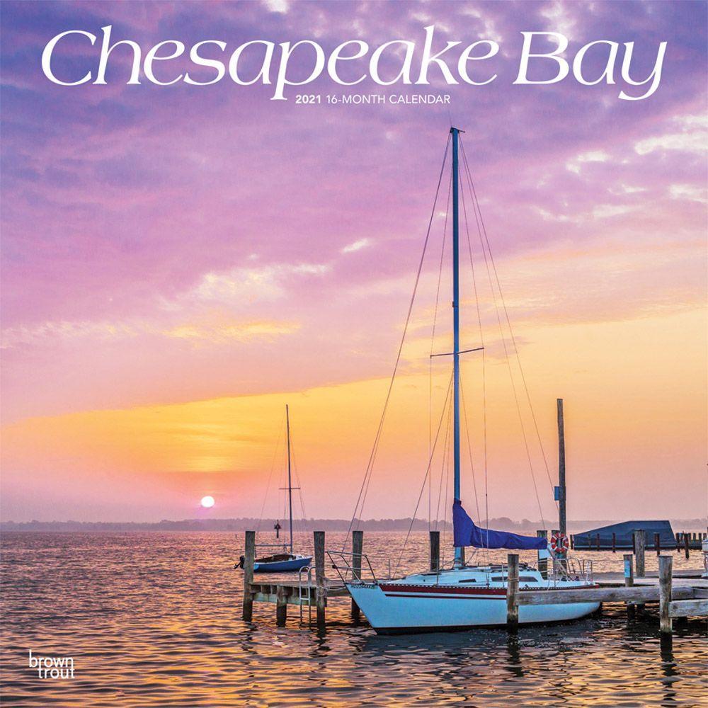 Chesapeake Bay 2021 Wall Calendar