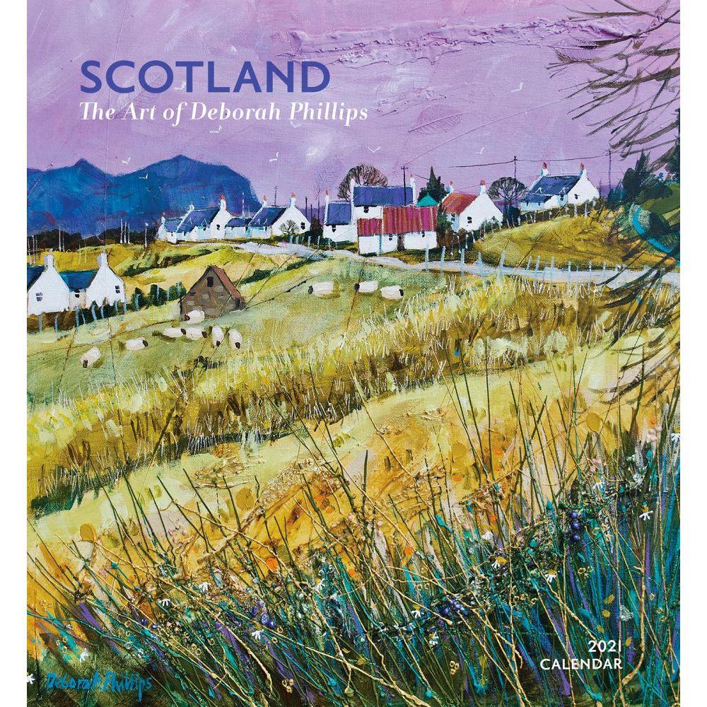 2021 Scotland Phillips Art Wall Calendar