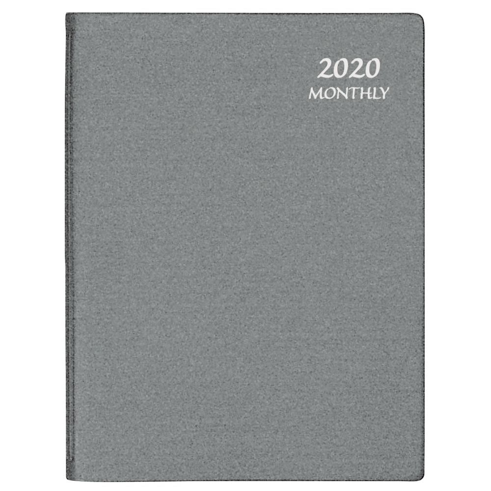 Silver-Frosted-Large-Monthly-Planner-1