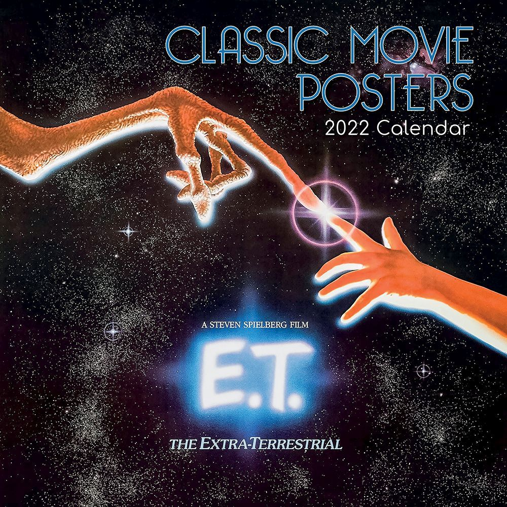 Movie Posters 2022 Wall Calendar