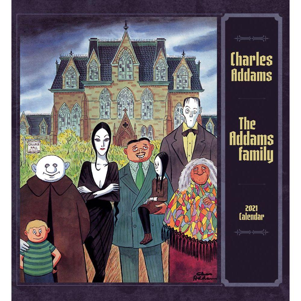 The Addams Family Wall Calendar