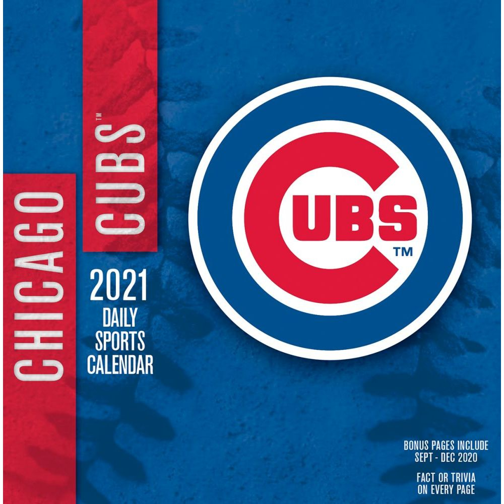 Chicago Cubs Desk Calendar