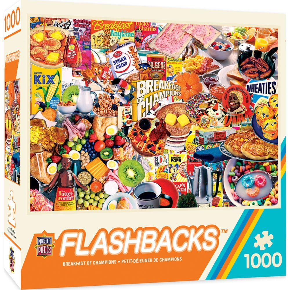 Best Breakfast of Champions 1000pc Puzzle You Can Buy