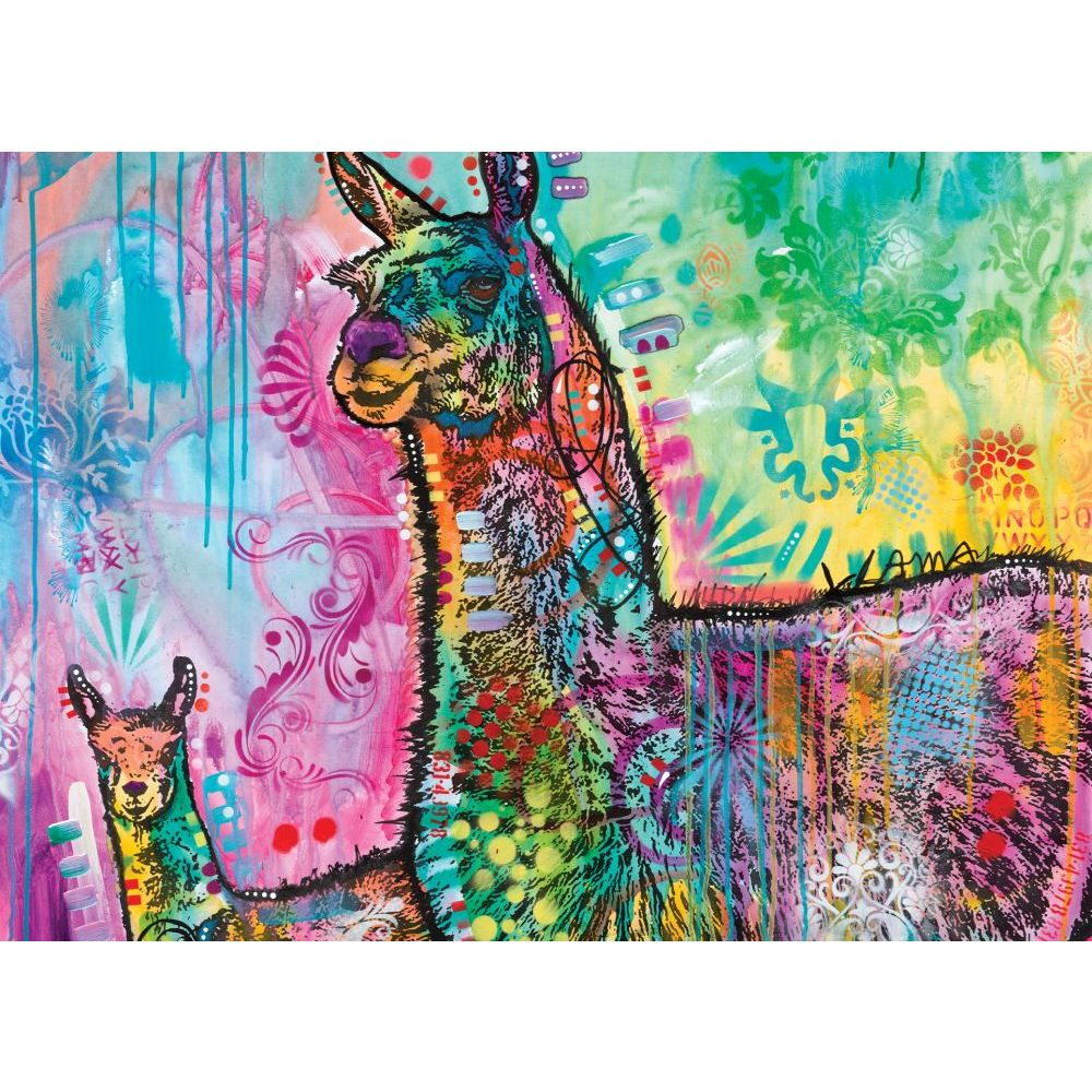 Best Llama Mamma 1000pc Puzzle You Can Buy